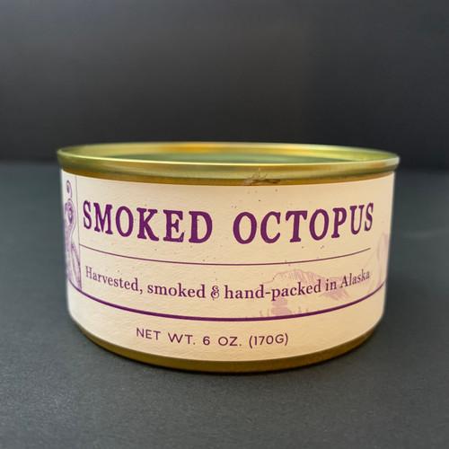 Wildfish Cannery   Smoked Octopus   6oz