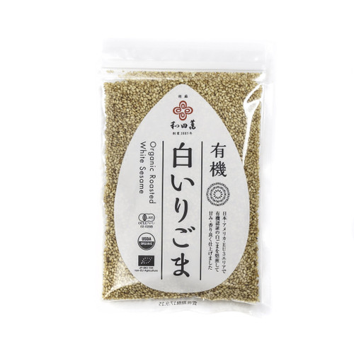 Golden Sesame Seeds, Roasted Organic | Wadaman | 50g