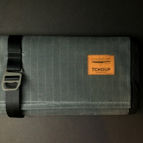 Tchoup Bags | Knife Roll | 9 Pocket | Slate