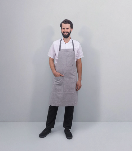 Tilit | Recycled Cotton Apron | Concrete