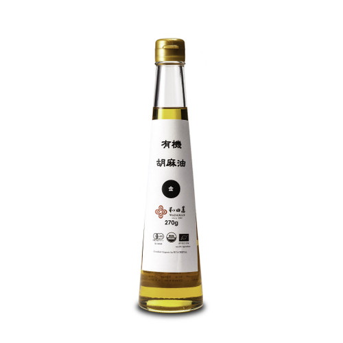 Organic Golden Sesame Oil | Wadaman | 300mL