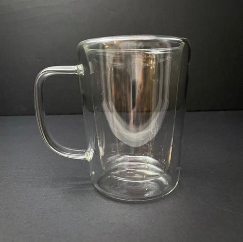 Double Wall Glass Mug | 350mL
