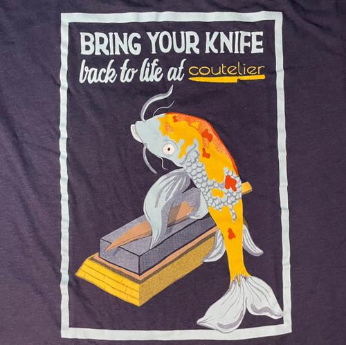 Coutelier   T-Shirt   Koi Fish