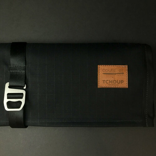Tchoup Bags | Knife Roll | 9 Pocket | Black