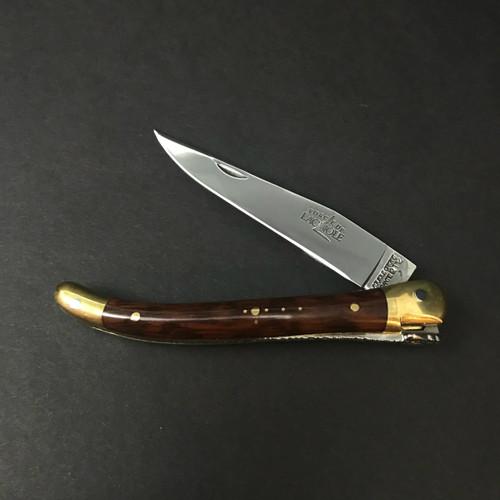 Forge de Laguiole | 9cm Snakewood | Brass