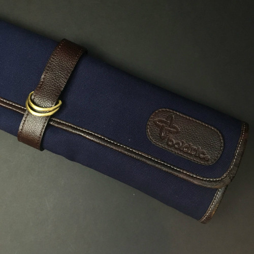 Boldric | 7 pocket knife roll | Navy