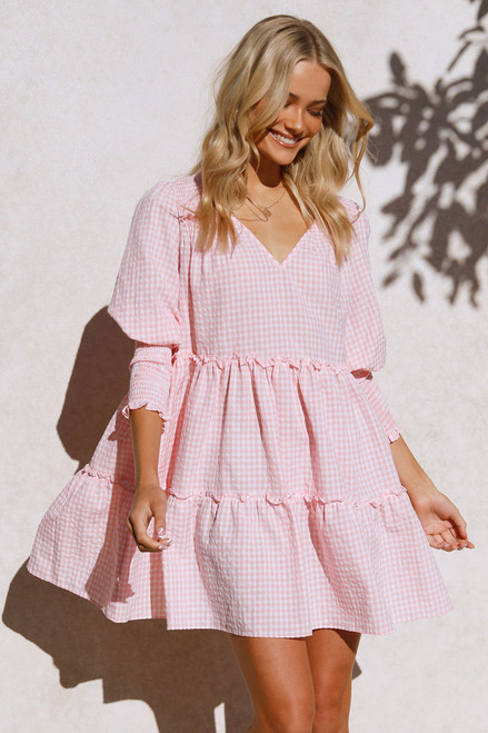 Flynn Dress PINK