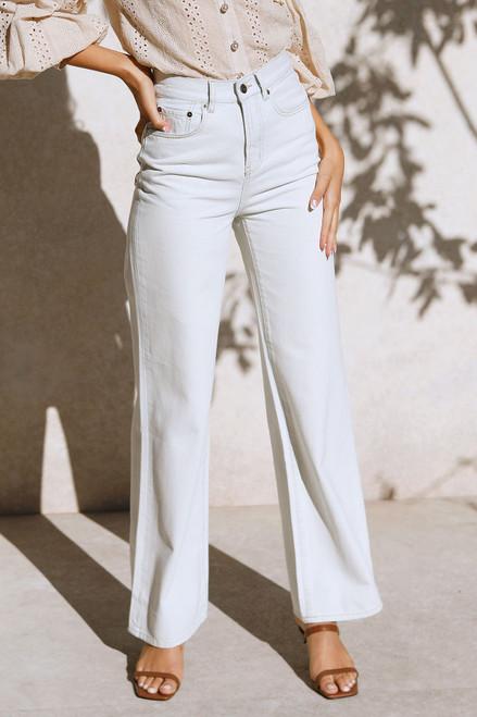 Charlee Wide Leg Jeans VINTAGE WASH