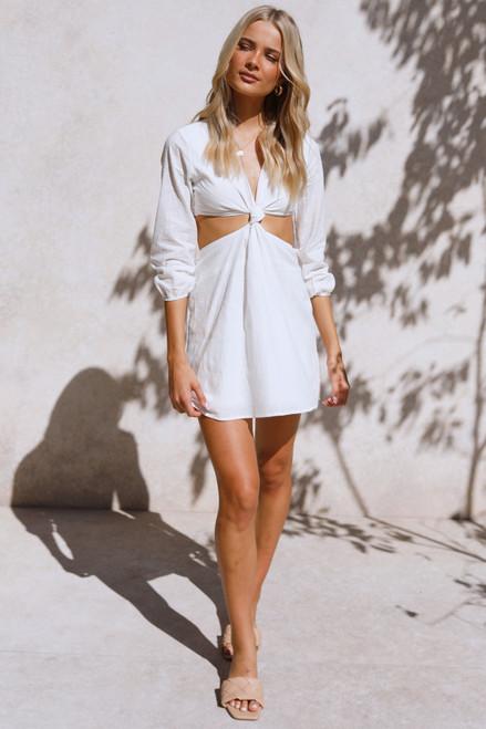 Amaya Mini Dress WHITE