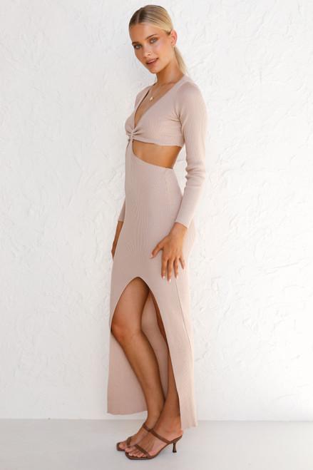 Noelle Dress BEIGE