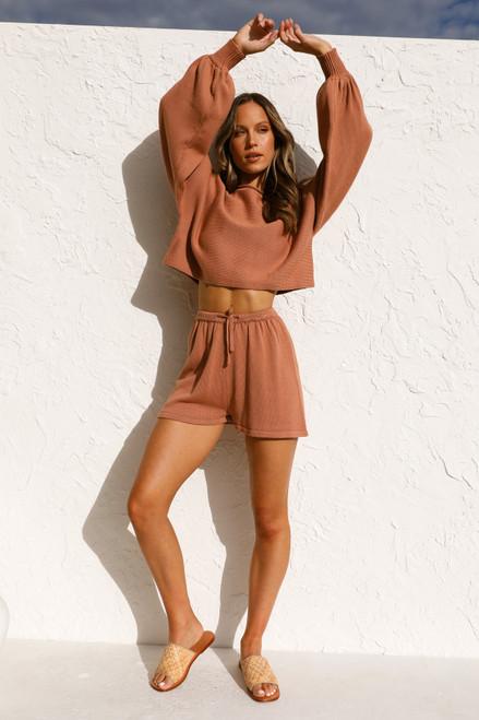 Edie Shorts RUST