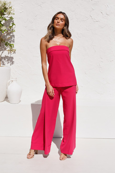 Rodeo Top HOT PINK