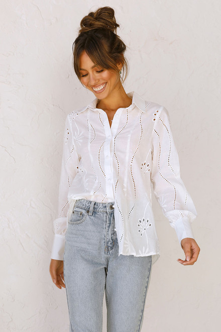 Aileen Top WHITE