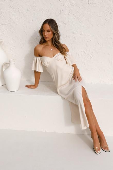 Tamsin Dress CHAMPAGNE
