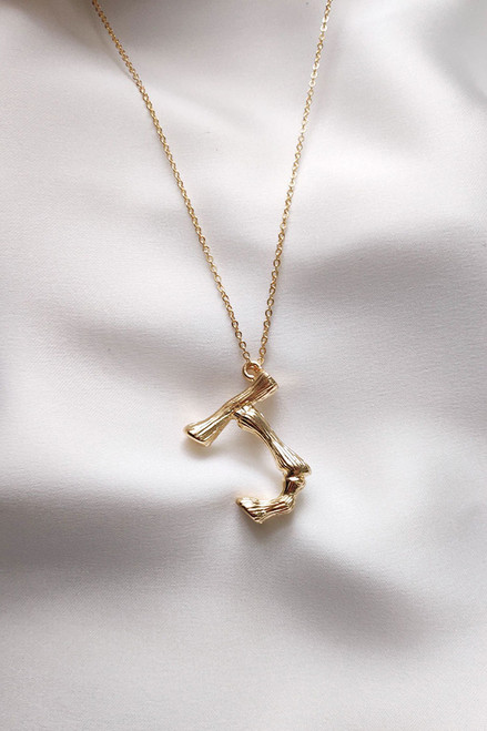 Initial Necklace F-J