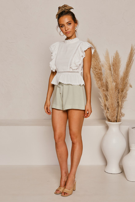 Lonely Hearts Shorts SAGE