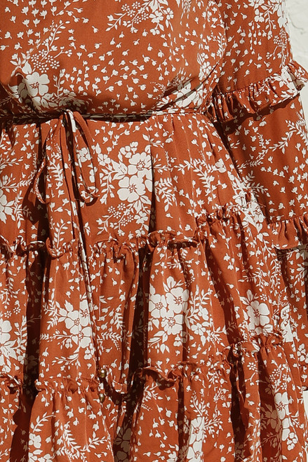 Azalea Dress RUST