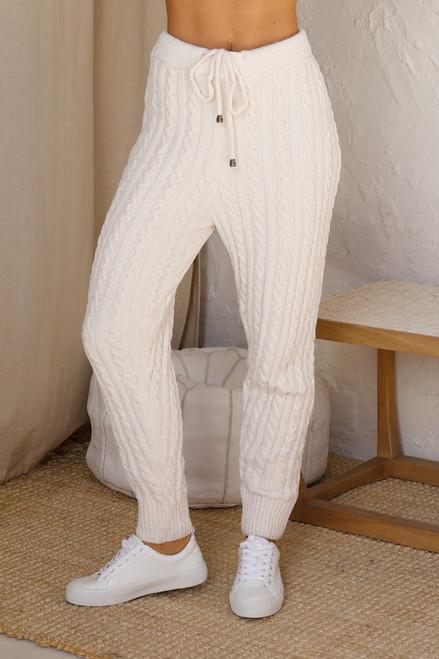 Renata Knit Pants CREAM