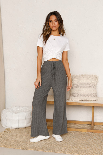 Levi Knit Pants GREY