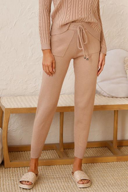 Hartley Knit Pants CAMEL