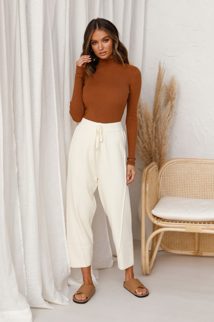 Sonny Knit Pants CREAM