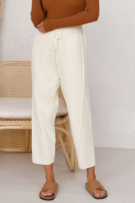 Sonny Knit Pants CREAM