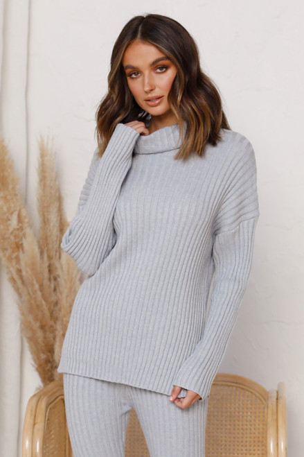 Wittner Knit Top GREY
