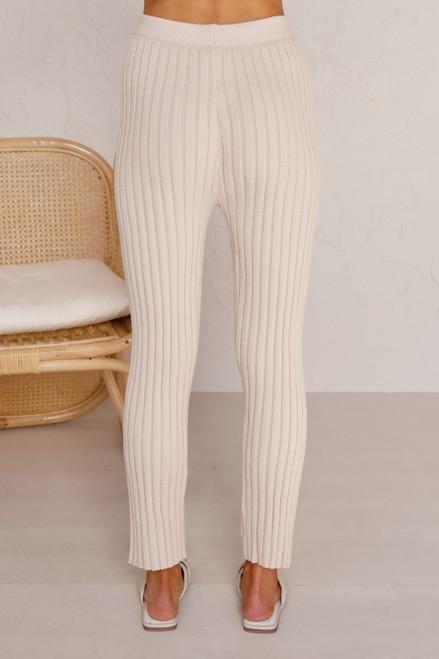 Allis Knit Pants BEIGE