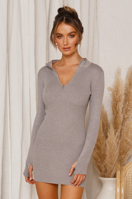 Sonya Dress GREY