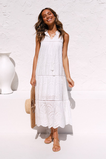 Ella Dress WHITE