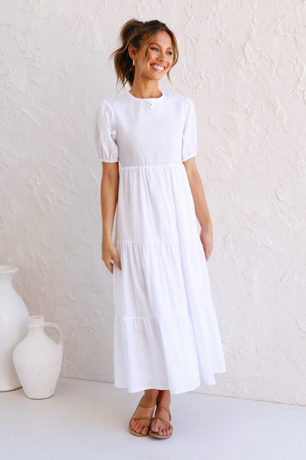 Penelope Dress WHITE