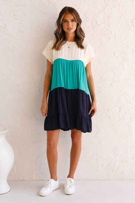 Tabbie Dress TEAL