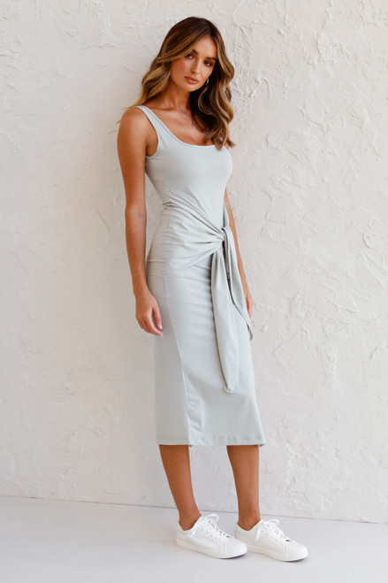 Stassi Midi Dress SEAMIST