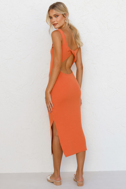 Emma Dress ORANGE