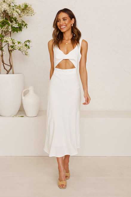 Kendall Dress WHITE