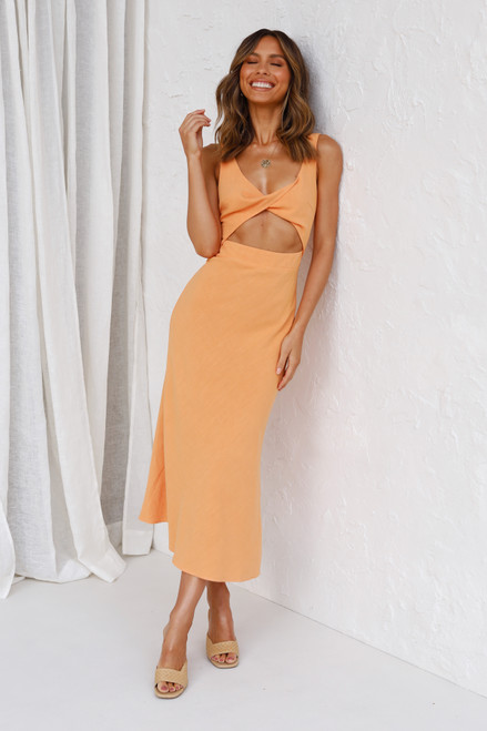 Kendall Dress TANGERINE