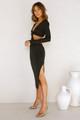 Tina Midi Dress BLACK