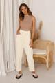 Miguel Knit Pants CREAM
