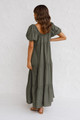 Zavia Maxi Dress KHAKI
