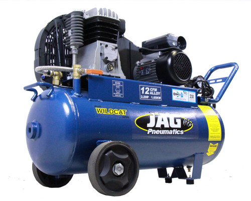Jag Pneumatics WILDCAT12 Air Compressor 12CFM Alloy Pump 58L
