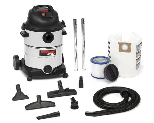 SHOP VAC PRO 40L 1400 Watt Wet/Dry Vacuum with HEPA Filter