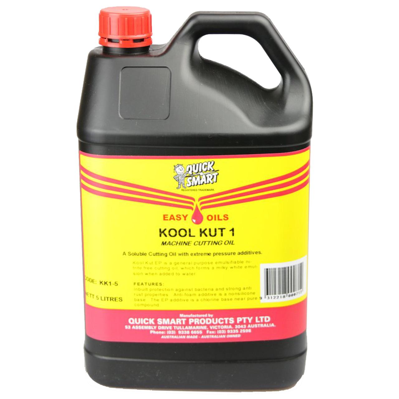 Quick Smart KK1-5 Kool Kut Machine Cutting Oil 5L