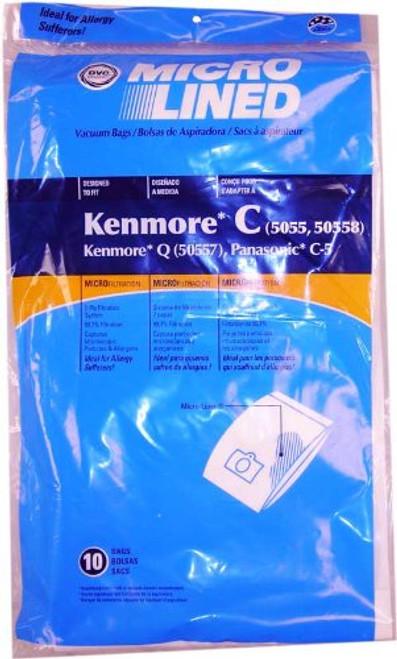 Panasonic & Kenmore Canister Vacuum Bags - 10pk