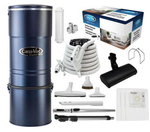 Cana-Vac Signature XLS-990 Central Vacuum with 30' Total Control Kit