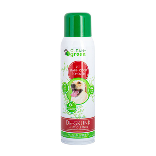 Clean + Green De-Skunk Pet Coat Cleaner