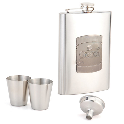 8oz Flask Groom