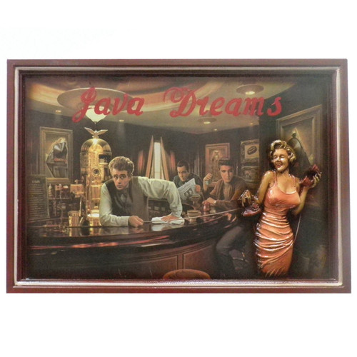 Wall Plaque Java Dreams