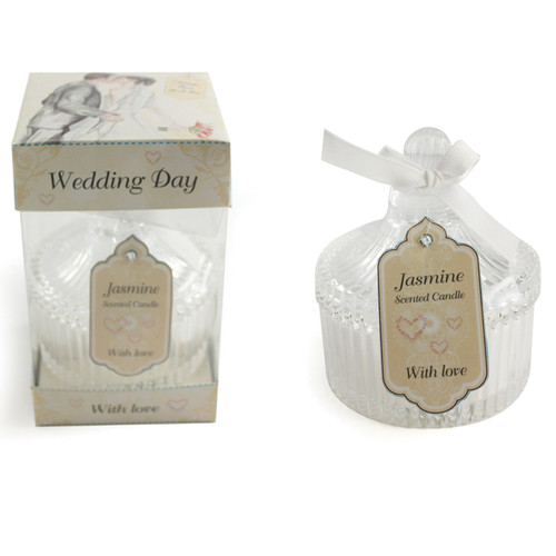 Jennifer Wedding Day Candle 15cm