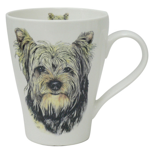 Dog Head Mug Yorkie