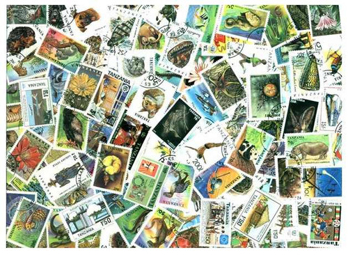 Tanzania Stamp Collection 200 Different Stamps All PIctorials and Topicals